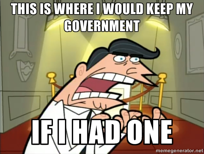 Fairly Odd Government