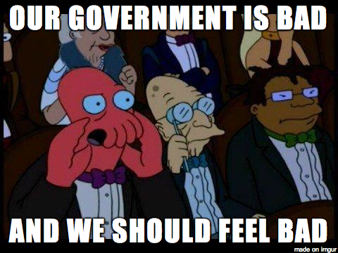 Zoidberg on the US Government